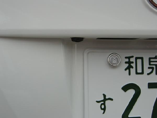 ND-BC6☆バックカメラ埋め込み加工取り付け