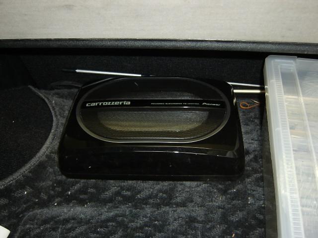 TS-WX110A・サブウーファー取り付け