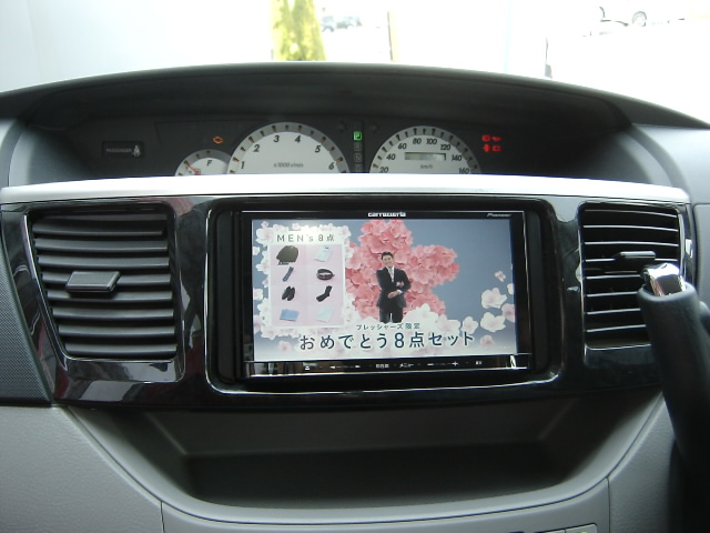AVIC-MRZ09�U・メモリーナビ取り付け