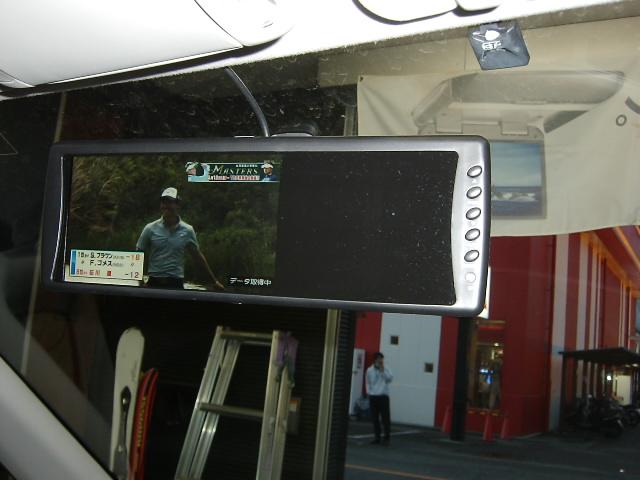 CASTRADE CC-RM7120W☆ルームミラーモニター取り付け