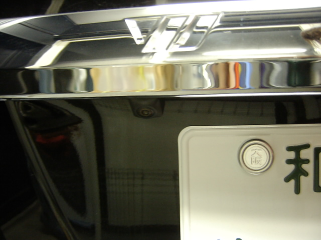 ND−BC6・バックカメラ埋め込み加工取り付け