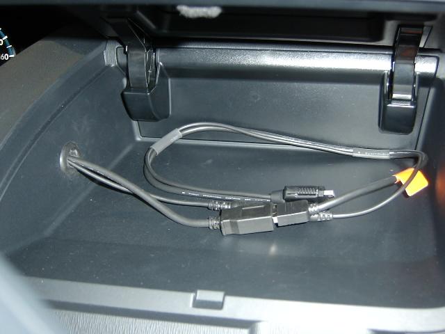 CD-IUV51M・ipodケーブル取り付け