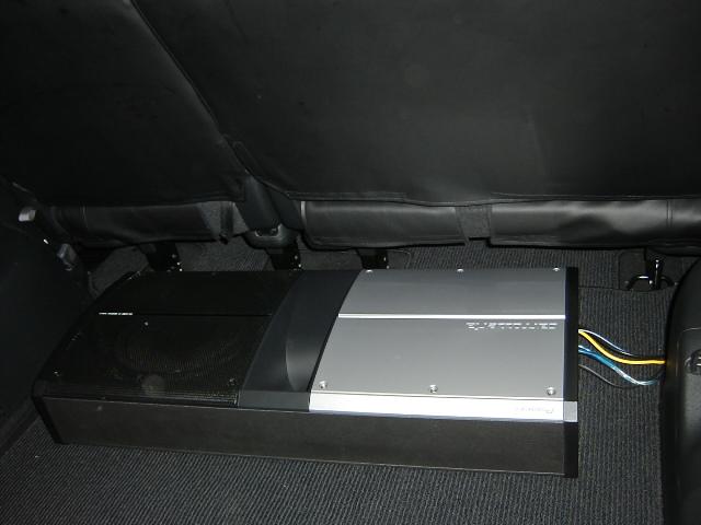 TS−WX990A。サブウーファー取り付け