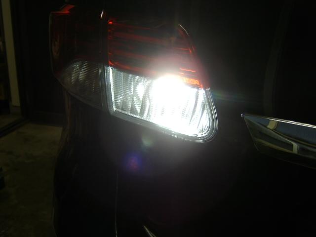 バックランプ球LED化