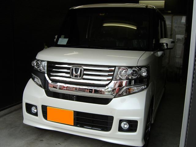N−BOX☆大阪・カーナビ取り付け