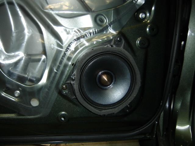 アルパイン★DDL-R170S・スピーカー交換