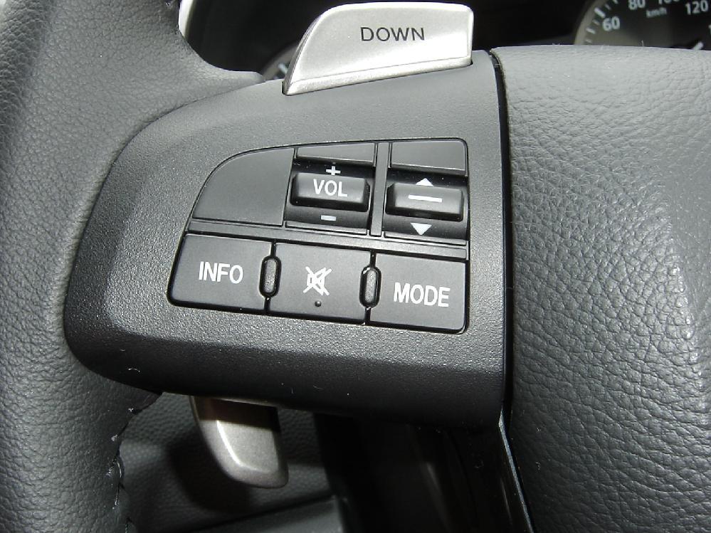 純正ステアリングボタン再利用