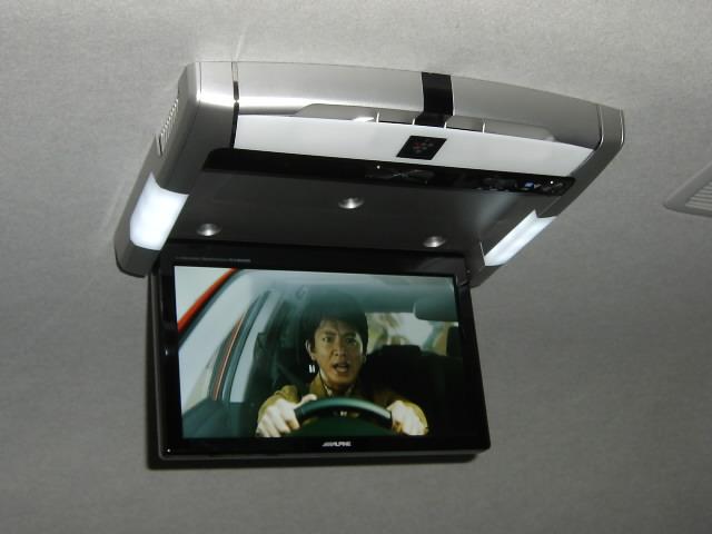 PCX-RM3505★フリップダウンモニター取り付け