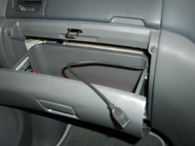 CA-LUB200D・USB コード取り付け