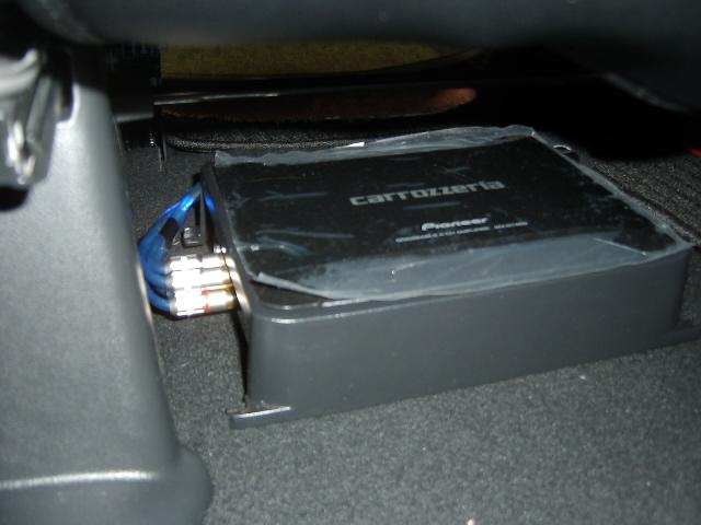 GM-D7400★アンプ取り付け