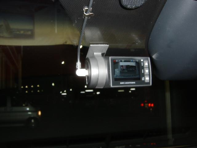DRY-AS375WGd ★ドライブレコーダー取り付け