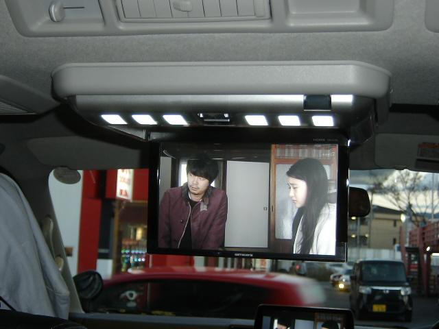 TVM-FW1030-S★フリップダウンモニター取り付け