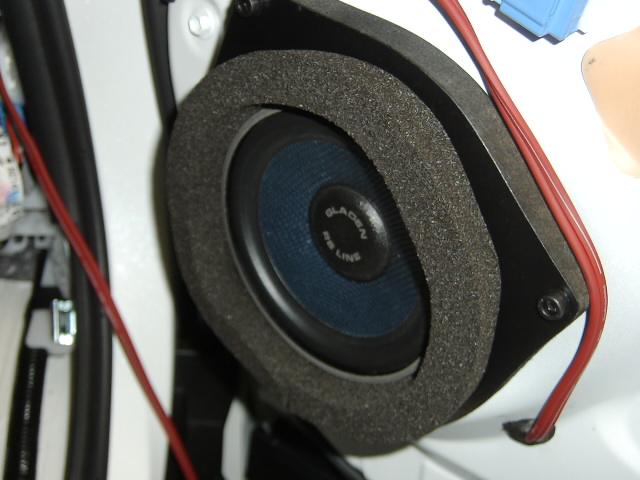 モスコニ・GLADEN/RS130スピーカー取り付け