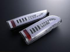 ALL LED&BAR TAIL クリアレンズ/クロームインナー ホワイトLEDバー