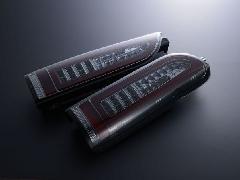 ALL LED&BAR TAIL スモークレンズ/クロームインナー レッドLEDバー