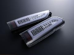 ALL LED&BAR TAIL クリアレンズ/JDMブラックインナー ホワイトLEDバー