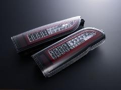 ALL LED&BAR TAIL クリアレンズ/JDMブラックインナー レッドLEDバー