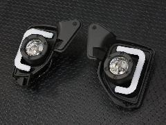 LED BAR デイライト フォグランプ 【�W型】