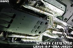 SARD スポーツキャタライザー LEXUS IS-F USE20