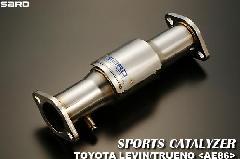 SARD スポーツキャタライザー LEVIN・TRUENO E-AE111 排気温度センサー無車
