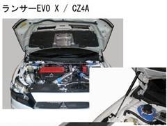 エンジンフードリフター  ランサー EVO-X CZ4A