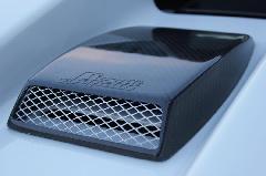 カーボンエンジンフードダクトカバー S660