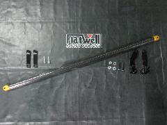 セーフティバー S660 φ35 カーボン ブラケット:ブラック
