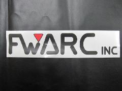 FWARCロゴステッカー