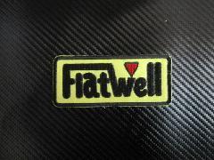 Flatwell オリジナルワッペン Sサイズ