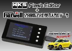 【送料無料】HKS フラッシュエディター+FlatWell 200馬力仕様カスタムデータ