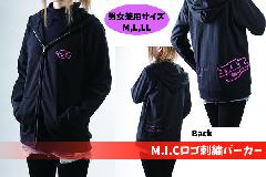 M.I.Cロゴ刺繍パーカー≪S,M,L,XL≫
