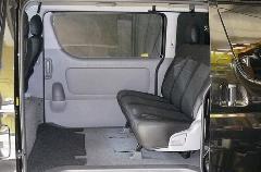 セカンドシート移動キット&専用マット(全面タイプ)セット ワイド