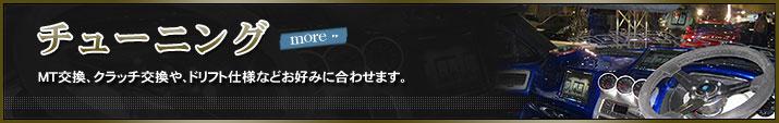 �`���[�j���O