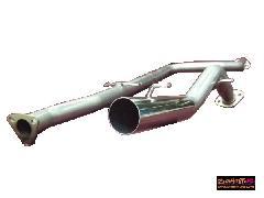 EF9シビックフルストレートマフラー