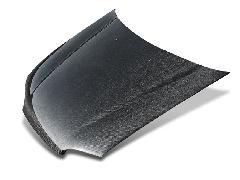 EGシビックFRP純正形状軽量ボンネットフード