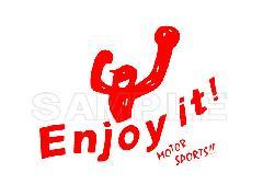 Enjoy it!!ロゴデカール