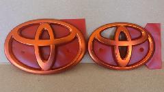 カラーエンブレム Ver. 86セット(マットオレンジ)
