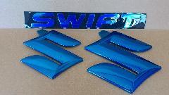 カラーエンブレム Ver. SWIFTセット(ブルー)