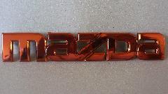 カラーエンブレム Ver.mazda(オレンジ)
