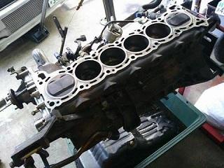 S13 シルビアエンジンOH