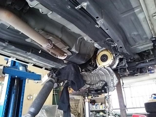 S14シルビア クラッチ交換