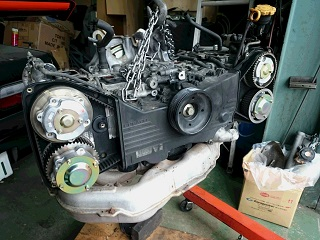 EJ20 エンジンオーバーホール