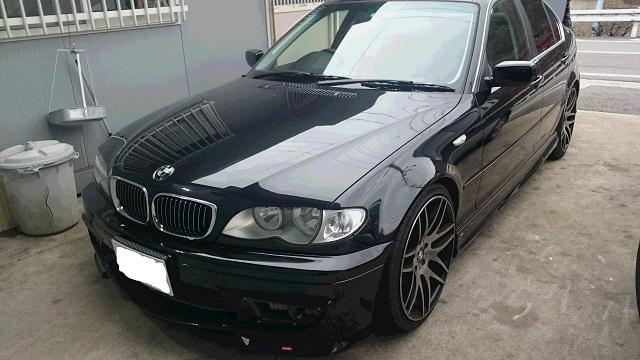 E46 BMW 320i スロコン取り付け