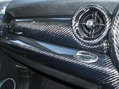 BMW MINI R55/56 ダッシュトリムカバー・カーボン綾織