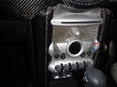 BMW MINI R55/56 センターコンソールカバー・カーボン綾織