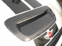 BMW MINI R55/56 ボンネットエアスクープ・カーボン平織