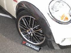 BMW MINI R55 ホイルアーチ・カーボン平織