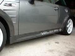 BMW MINI R50/53 サイドステップ・カーボン平織