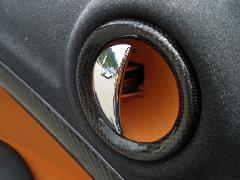 R60ドアオプナーカバー・カーボン平織