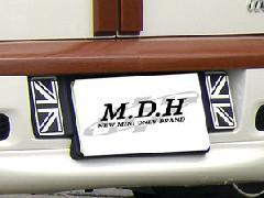 M.D.H バックナンバーガーニッシュ BMW MINI R55